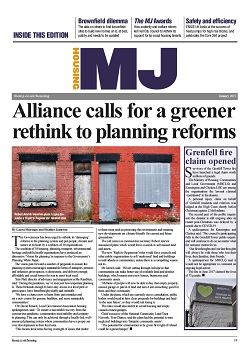 The MJ Housing supplement January 2021