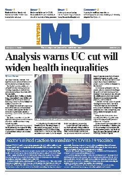 The MJ Health supplement September 2021