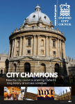 Council Supplement: Oxford City Council